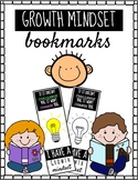 Growth Mindset Bookmarks!