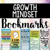 Growth Mindset Bookmarks