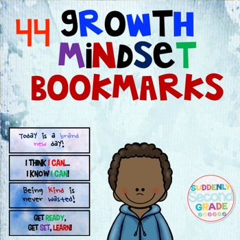Growth Mindset Bookmarks- Clouds and Sky