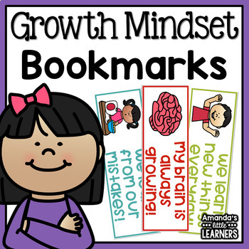Growth Mindset Bookmarks - Free