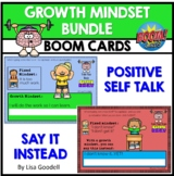 Growth Mindset BOOM CARDS No Prep INTERNET ACTIVITIES