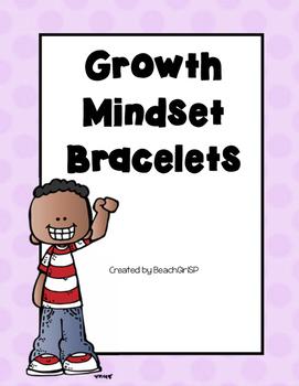 Growth Mindset Bracelets