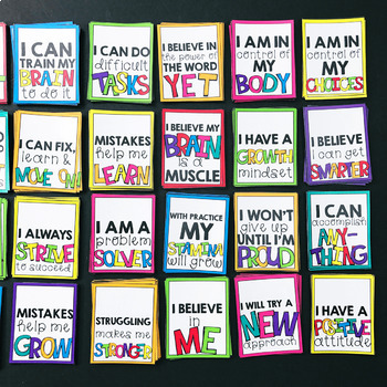 Growth Mindset Brag Tags By Lucky Little Learners Tpt