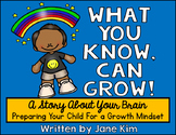 Growth Mindset Brain Book: What You Know, Can Grow!