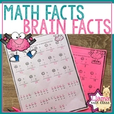 Growth Mindset Brain Facts Through Multiplication Practice