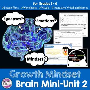 Growth Mindset Brain Unit 2 Lesson Plans