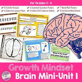 Growth Mindset Brain Unit Lesson Plans