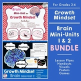 Growth Mindset Brain Unit Lesson Plans BUNDLE