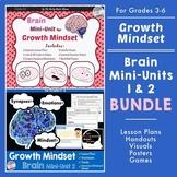 Growth Mindset Brain Unit Lesson Plans BUNDLE
