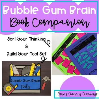 Growth Mindset Bubble Gum Brain Book Companion