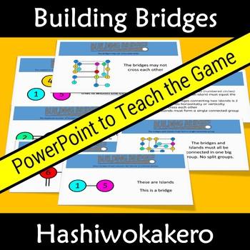 Growth Mindset: Building Bridges and Islands - Hashiwokakero Easier Version