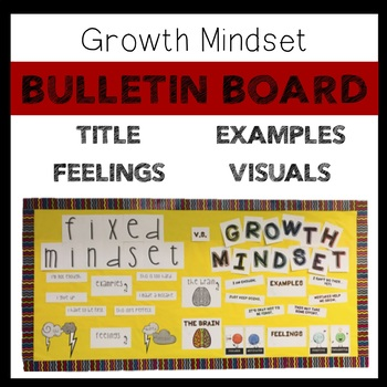 Growth Mindset Bulletin Board