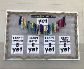 Fast & Easy Growth Mindset Bulletin Board