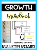 Growth Mindset Posters / Growth Mindset Bulletin Board