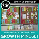 Growth Mindset Bulletin Board BUNDLE Social Emotional Learning