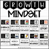 Growth Mindset Bulletin Board Book Display