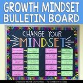 Growth Mindset Bulletin Board | Change Your Mindset