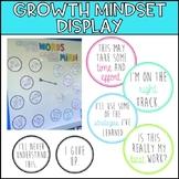 Growth Mindset Bulletin Board Display