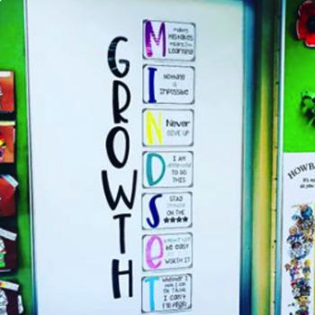 Growth Mindset Display