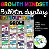 Growth Mindset Bulletin Board Display- Classroom Decor