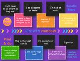 Growth Mindset Bulletin Board Display Set, Printable