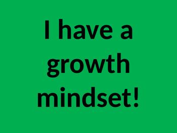 Growth Mindset Bulletin Board - FREEBIE