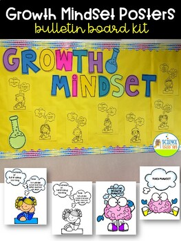 Growth Mindset Bulletin Board Kit