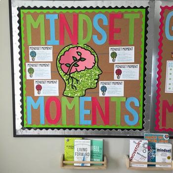 Growth Mindset Bulletin Board: Mindset Moments