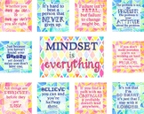 Growth Mindset Bulletin Board - Mindset is Everything