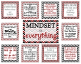 Growth Mindset Bulletin Board - Mindset is Everything - Re