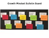 Growth Mindset Bulletin Board Prep