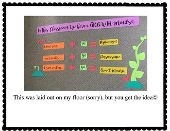 Growth Mindset Bulletin Board (Ready to Print!)