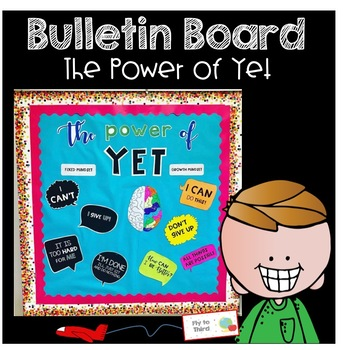 The Power of Yet- Editable Bulletin Board