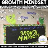 Growth Mindset Bulletin Board Set - Cactus Edition!