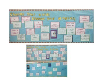 Growth Mindset Bulletin Board with Quotes