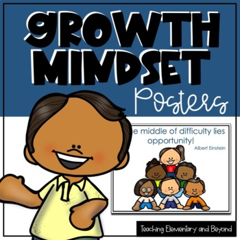Growth Mindset Posters {bundle & bonus}