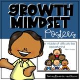 Growth Mindset Posters bundle and bonus