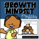 Primary Growth Mindset Posters Bundle & Bonus