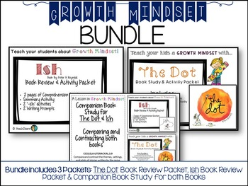 Growth Mindset - BUNDLE - for 3rd and 4th Grade