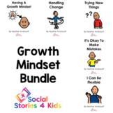 Growth Mindset Bundle (English Black and White Versions)