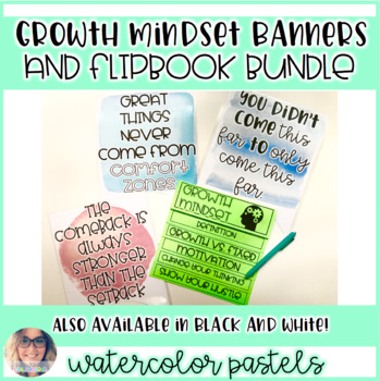 Growth Mindset Bundle - Flip Book and Posters