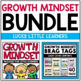 Growth Mindset Bundle (Passages & Brag Tags)