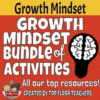 Growth Mindset Bundle of Activities and Tools