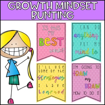 Growth Mindset Bunting Posters