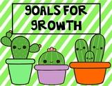 Growth Mindset Cacti