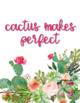 Growth Mindset - Cactus - Succulents - Classroom Decor