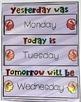 Growth Mindset Calendar and Weather Chart Set {EDITABLE too!}