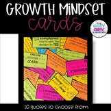 Growth Mindset Cards