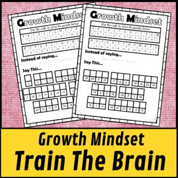 Growth Mindset Train the Brain Challenge Activity