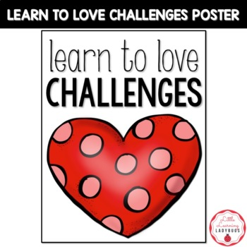Growth Mindset Challenges FREEBIE Posters
